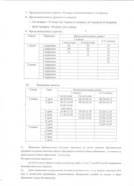 Подробнее: Годовой календарный учебный график на 2018-2019 учебный год